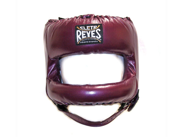 Cleto Reyes Pro Head Guard Rounded Nylon Bar Metallic Purple
