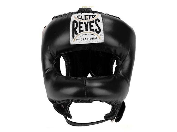 Cleto Reyes Traditional Pro Head Guard Pointed Nylon Bar Black