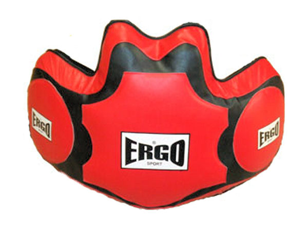 Ergo Boxing Pro Leather Coach Body Protector