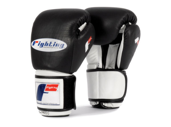 Fighting Sports Tri-Tech Elite Pro Sparring Gloves - Black