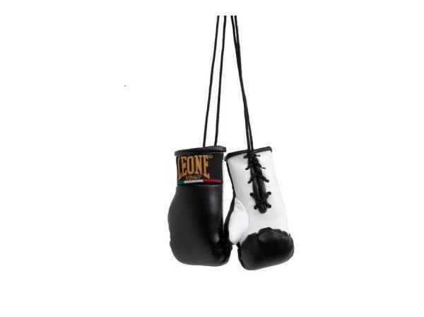 Leone 1947 Mini Replica Hanging Boxing Gloves - Black