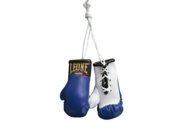 Leone 1947 Mini Replica Hanging Boxing Gloves - Blue