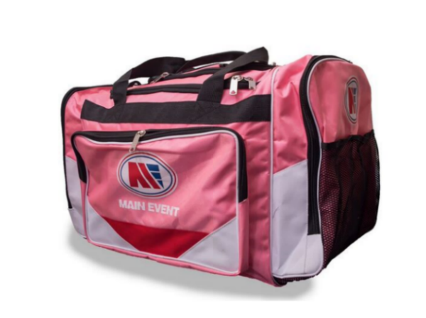 Main Event Boxing Sports Gear Kit Gym Bag Holdall Pink Medium