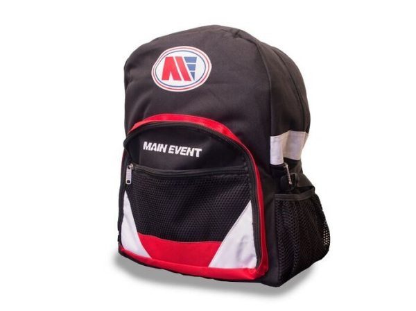 Main Event Boxing Sports Gear Kit Gym Bag Backpack Black