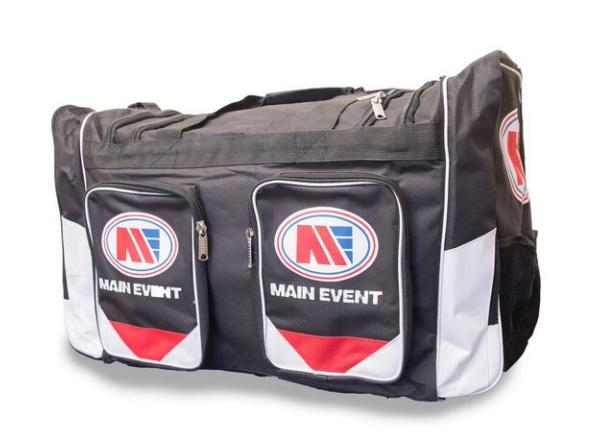 Shiv Naresh Teens Boxing Gloves 12oz: Main Event Boxing Sports Gear Kit Gym Bag Holdall Black