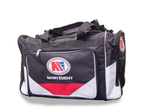 Main Event Boxing Sports Gear Kit Gym Bag Holdall Black Medium