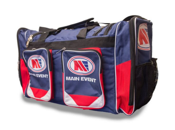 Main Event Boxing Sports Gear Kit Gym Bag Holdall Blue Large