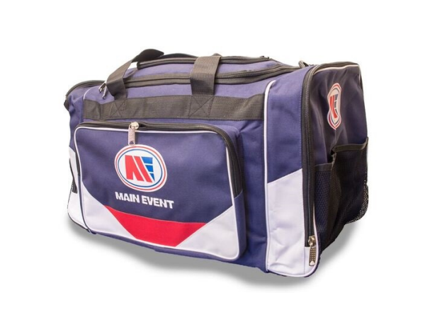 Main Event Boxing Sports Gear Kit Gym Bag Holdall Blue Medium