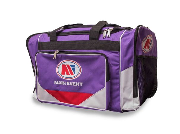 Main Event Boxing Sports Gear Kit Gym Bag Holdall Purple Medium