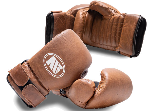 Main Event Heritage Leather Pro Coach Tech Spar Gloves / Pads