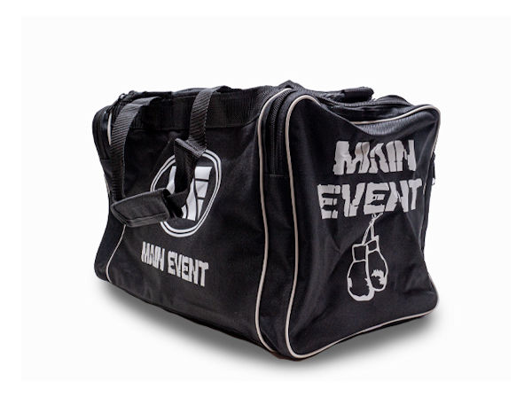 Main Event Boxing Junior Sports Gear Kit Gym Bag Holdall Black