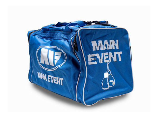 Main Event Boxing Junior Sports Gear Kit Gym Bag Holdall Blue