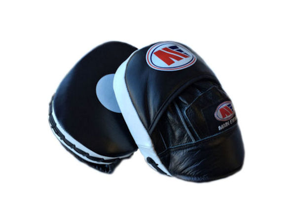 Main Event Leather Pro Reaction Cuban Punch Mitts Focus Pads