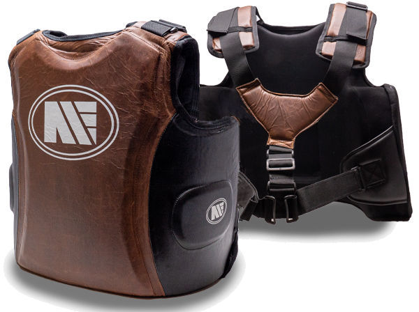 Main Event Heritage Leather Professional Boxing Gel Coach Guard