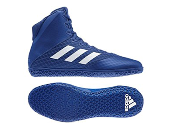Adidas Mat Wizard 4 Boxing Wrestling Boots - Blue White