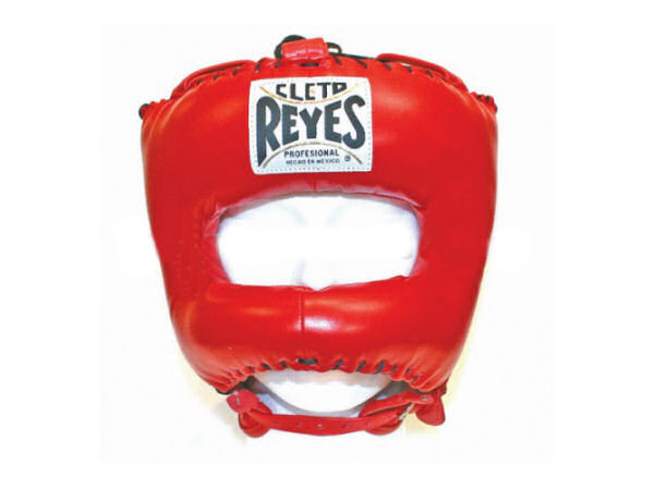 Cleto Reyes Traditional Pro Head Guard Pointed Nylon Bar Red