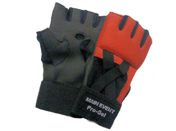 Main Event Pro - Gel Glove Wraps - Red