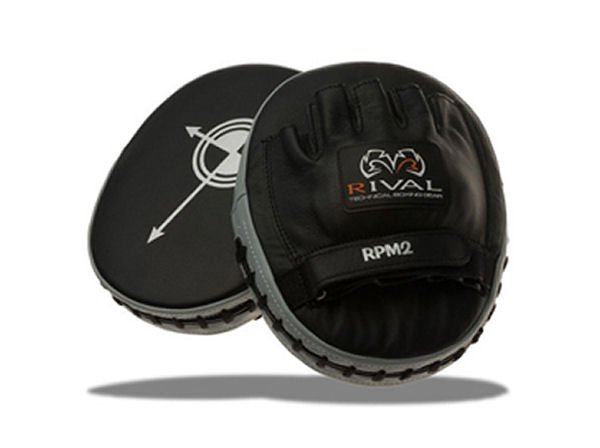 Rival Boxing Pro Cuban Straight Punch Mitts Coach Pads