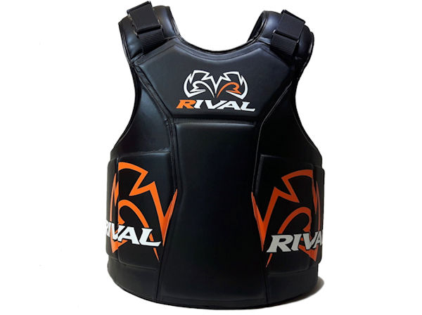 Rival Boxing Pro Coach Guard Body Protector The Shield Black