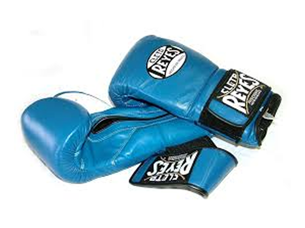 Cleto Reyes 12oz Velcro Pro Sparring Training Gloves - Blue